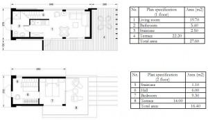 Mobile modular houses - Apis II