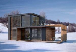 Mobile modular houses