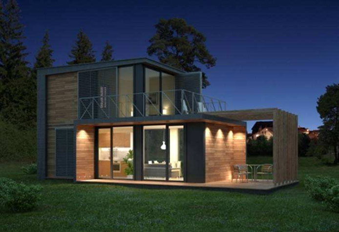 """Module House private house """"ursus"""" 